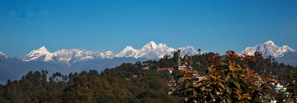 Langtang View From Nagarkot