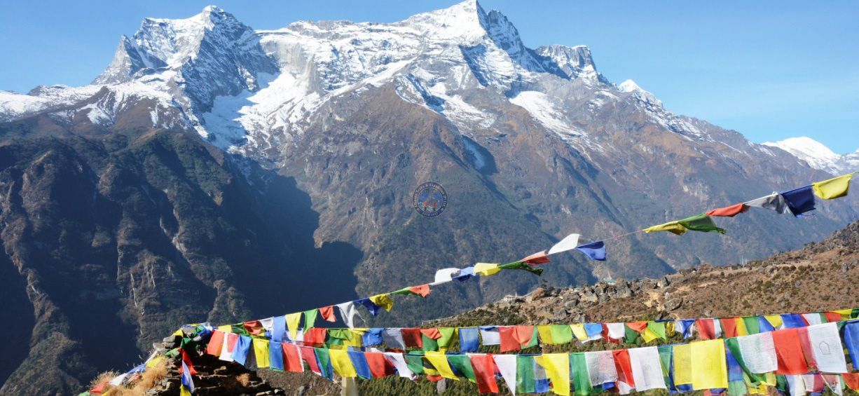 View from Namche Bazzar