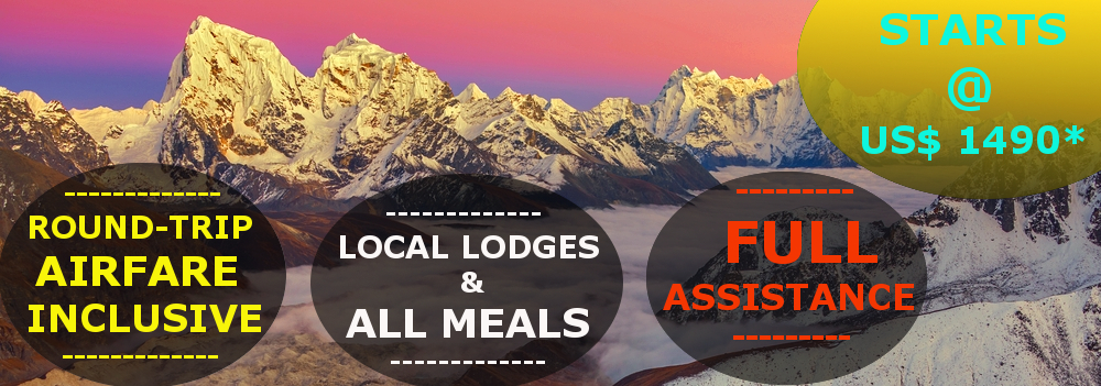 Everest Gokyo Lake Trek - 14 Days